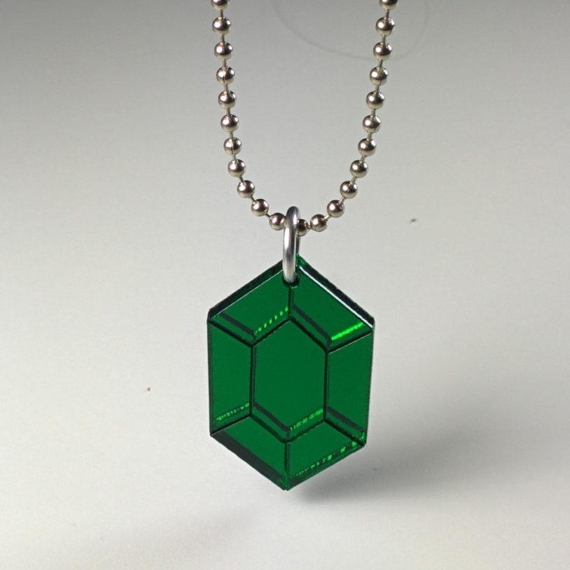 Green Gem Neckalce