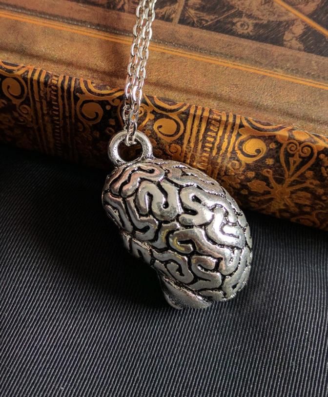 Anatomical Brain Necklace 4
