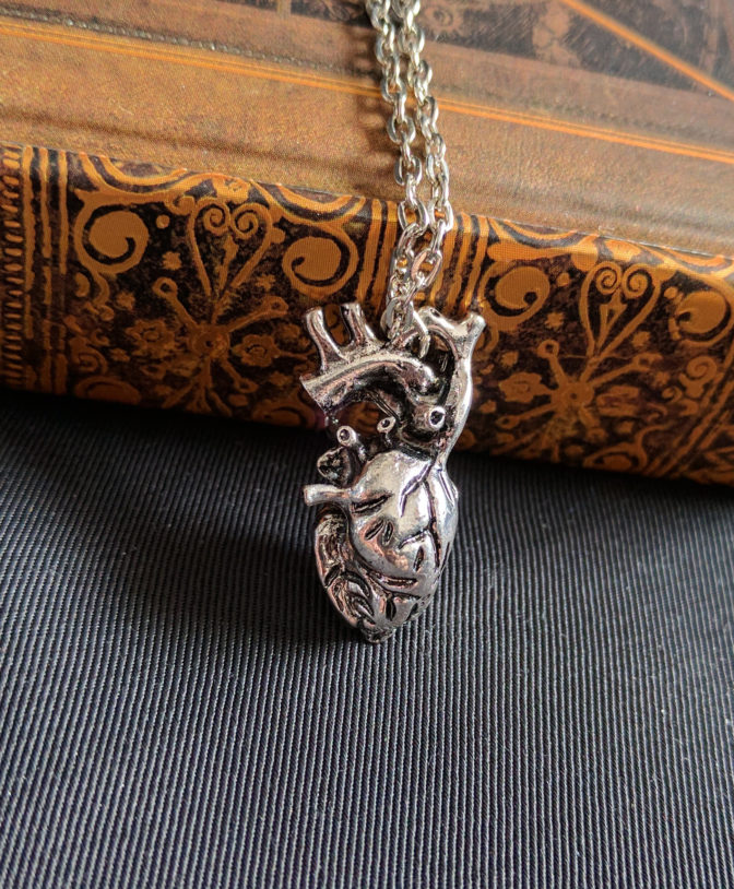 Anatomical Heart Necklace 4