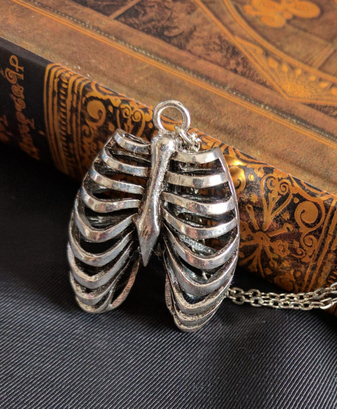Anatomical Ribcage Necklace 2