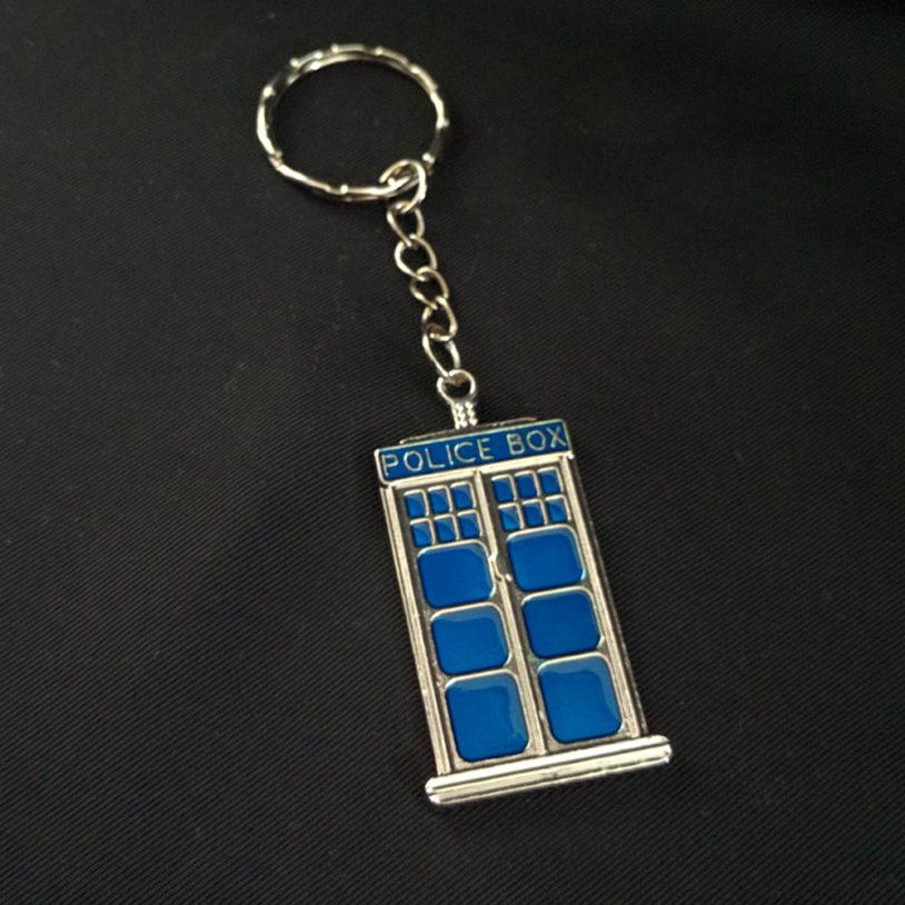 Police Box Keychain Large