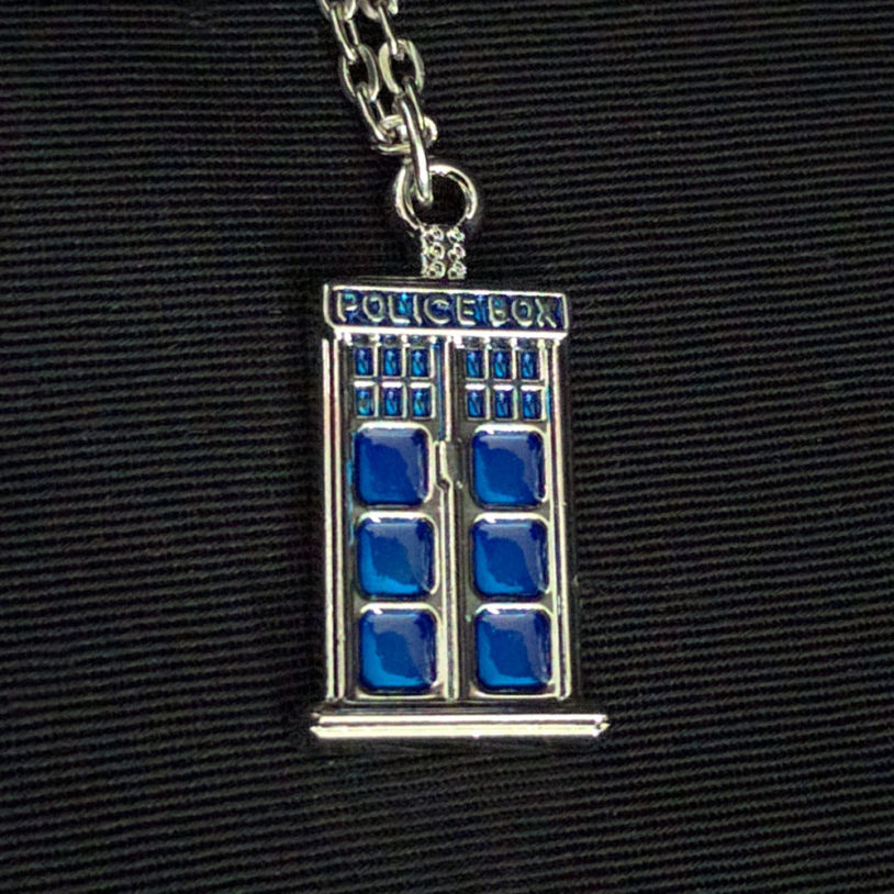 Police Box Necklace Small 1